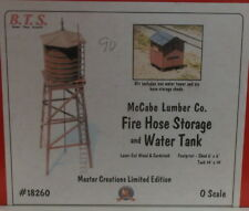 "On3 On30 O CRAFTSMAN BTS LOGGING"" FIREHOSE STORAGE& WATER TANK KIT #18260""  NEW"