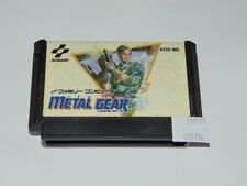 Famicom: Metal Gear KDS-ME (Cartucho/Cartridge)
