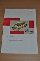 Selbststudienprogramm SSP 313 AUDI A3 ´04 Fahrwerk Stand 2003