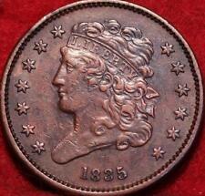 1835 Philadelphia Mint Copper Classic Head Half Cent