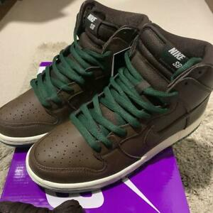 "Nike SB DUNK HIGH ""BAROQUE BROWN"" CV1624-200 Men's US 6 - 12 Authentic"