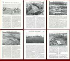 1931 The Neolithic Village Site At Playden Sussex Old Article