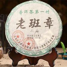 Raw pu-erh tea cake green food Yunnan menghai puer tea 357g chinese sheng cha
