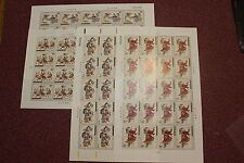 China stamp  2003-2 Yangliuqing Wood New Year Picture 楊柳青, In 4 full sheets