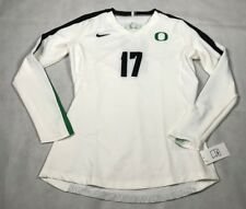 NIKE WOMENS MEDIUM OREGON DUCKS DIGITAL VAPOR LONG SLEEVE JERSEY 846313 NWT B4
