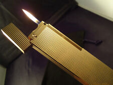 S.T. Dupont Line 1 TABLE  Lighter - Gold Plated - Cased - Briquet - Feuerzeug