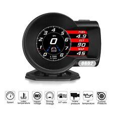 iKiKin Car HUD Head Up Display Digital Car Speedometer OBD 2 HUD Dash Multi G...