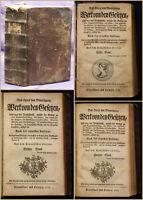 Montesquieu Werk von den Gesetzen, oder von der Verhältniß 1753 Gesetz Recht sf