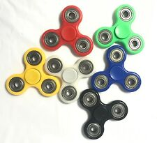 100pcs Mixed Colour Steel Fidget Hand Finger Spinner Spin Joblot Wholesale