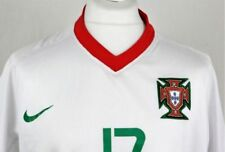 Maillots de football des sélections nationales blancs portugal