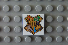 NEW LEGO Harry Potter Decorated 2x2 Tile with Hogwarts Coat of Arms 4767 4842