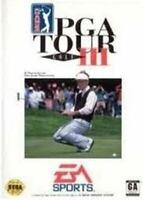 PGA Tour Golf III - Original Sega Genesis Game