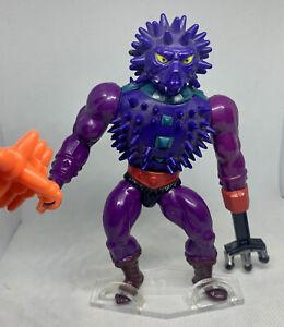 GENUINE VINTAGE MASTERS OF THE UNIVERSE (MOTU) SPIKOR - 100% COMPLETE!!!