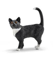 Schleich 13770 Cat Standing Model Toy Animal Figurine - NIP