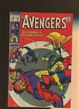 Avengers 59 VG/FN 5.0 *1 Book* 1st Hank Pym as Yellowjacket! Thomas! Buscema