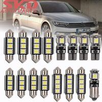 9x Lampen weiß Innenraum beleuchtung für VW Passat Variant 3B6 3C5