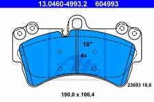 Plaquettes de freins plaquettes de frein Audi v8 4c//quattro 85 arrièreEssieu Arrière