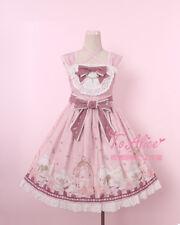 Anthony's Tea Party Cute Girl's Lolita OP/JSK Dress Summer Bubble Tea Dress