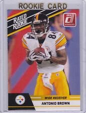 ANTONIO BROWN ROOKIE CARD Pittsburgh Steelers Football 2010 Donruss Rated RC