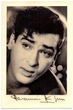 1963 India Bollywood Actor/Hero Shammi Kapoor Self Singed Photo &Letter Original