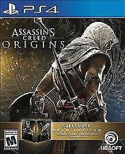 Assassin's Creed: Origins -- SteelBook Gold Edition (Sony PlayStation 4, 2017)