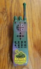 Vintage M1Abram Attack Military Tank Rc Toy Replacement Remote Control Army 1998