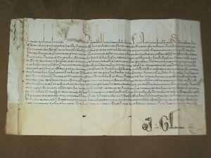 RARE Early Vatican Papal Bull Vellum Manuscript, Pope Clement VIII, c.1592-1605