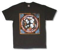 Korn Z Tour 2006 Distressed Faces Black T Shirt New Official Adult