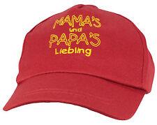 Kinder  Cap Mütze * Mamas & Papas Liebling * ROT