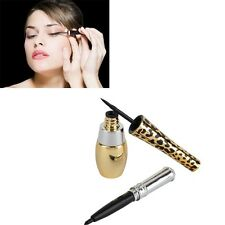 2en1 Eye-liner Crayon  Eyeliner Liquide  Waterproof Yeux Maquillage Cosmétique