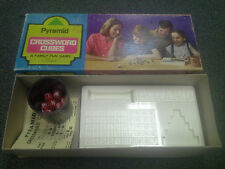 Pyramid Crossword Cubes: A Family Fun Game by Crisloid 1967
