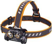 Fenix HM65R 1400 Lumen Spot and Flood light USB Rechargeable Headlamp & Battery