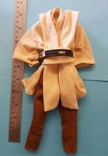 "1/6 scale Epi I Star Wars Qui-Gon Jinn 's outfit for custom 12 "" figure 12 inch"