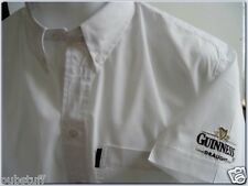 GUINNESS DRAUGHT BEER SHIRT - Genuine New Diageo Brewery Bar Pub Business Top ML