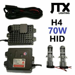 70W H4 Hi/Lo HID Kit 12v for Nissan Patrol MQ MK GQ Ford Maverick Navara D21 D22