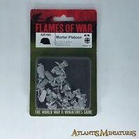 Metal German Mortar Platoon - Axis - Blister - Flames of War C1683