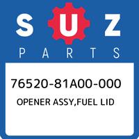 76520-81A00-000 Suzuki Opener assy,fuel lid 7652081A00000, New Genuine OEM Part