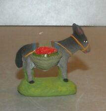 NEW  Donkey carring fruits, Santon Marcel Carbonel number 1