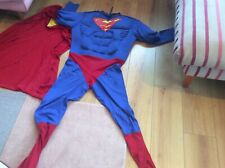SUPERMAN 2ND Pelle Costume da supereroe Dc comics Body Costume Outfit 80520