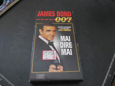 VHS film JAMES BOND 007 Mai dire mai - Fabbri Video