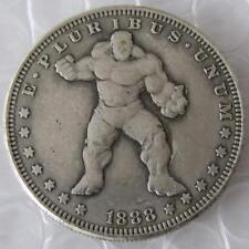 US Hobo 1888 Morgan Dollar HULK Marvel Movie Coin