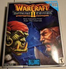 WarCraft 2 : Battle.net Edition (Windows/Mac, 1999) SEALED BIG BOX NEW