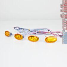 Hella LED Seitenmarkierungsleuchten 4er Set SML orange gelb Positionsleuchten