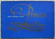 VANDEN PLAS Princess Car Sales Brochure c1960 #1823/C