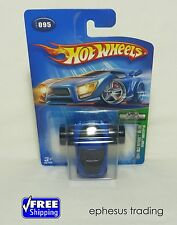 2004 Hot Wheels FE Fatbax Chevy Corvette C6 Coupe LS2 Blue 95/100 #095 1/64 NEW!