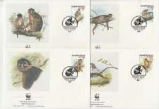 WWF 4 x FDC Guine-Bissau 1992 - Aap / Monkey (384)