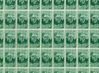 #1011 1952 MOUNT RUSHMORE full mint sheet of 50 MNH OG