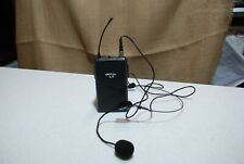 Nady HM-3 Headworn Microphone - Hands-free microphone singers With Transmitter