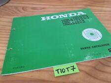 Tondeuse gazon Honda HRB HRM 215 K2 K3 HRB HRM 535 K2 liste piéce détachée