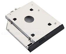 Faceplate + Bracket 2nd HDD SSD Caddy for HP EliteBook 8560w 8570w 8760w 8770w